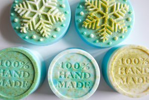 Vegan Christmas Soaps