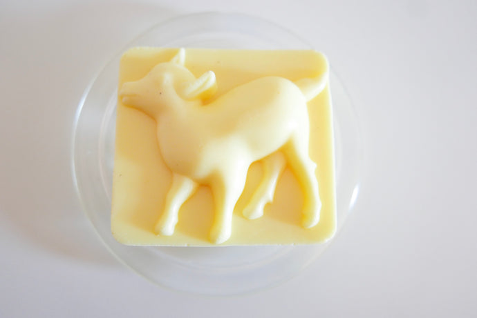 Large Simple Mango Goats Milk Soap