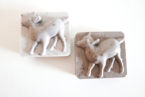 Chocolate Large Goats Milk Soap with Chocolate Scrub