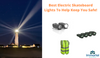 Top Electric Skateboard Lights To Increase Rider Safety! Night Riding.