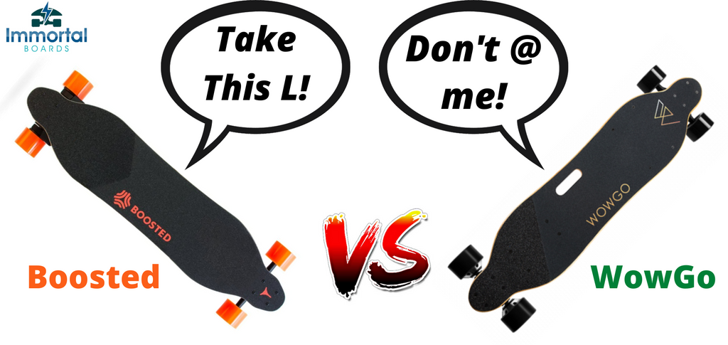 Boosted Vs WowGo. Which Electric Skateboard Will Come Out On Top?