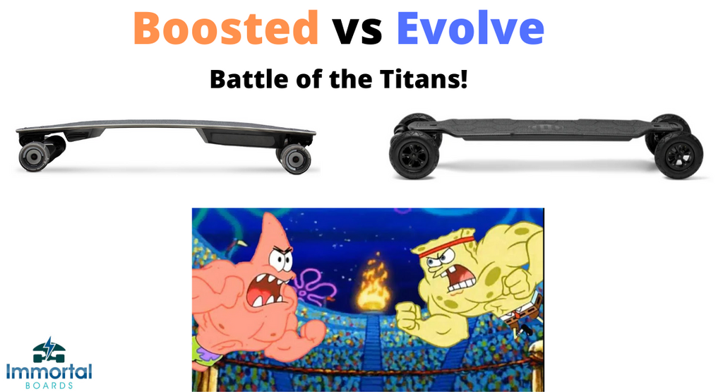 Boosted vs Evolve. Which Electric Skateboards Are Better?