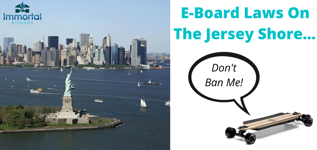 Are Electric Skateboards Legal In New Jersey? Rules And Laws.