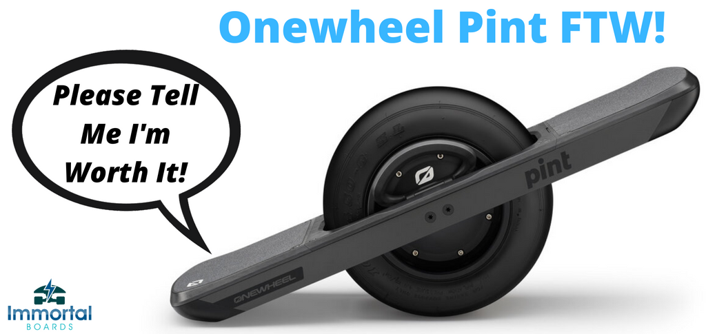 An Actual No BS Review Of The Onewheel Pint. Small But Beastly!