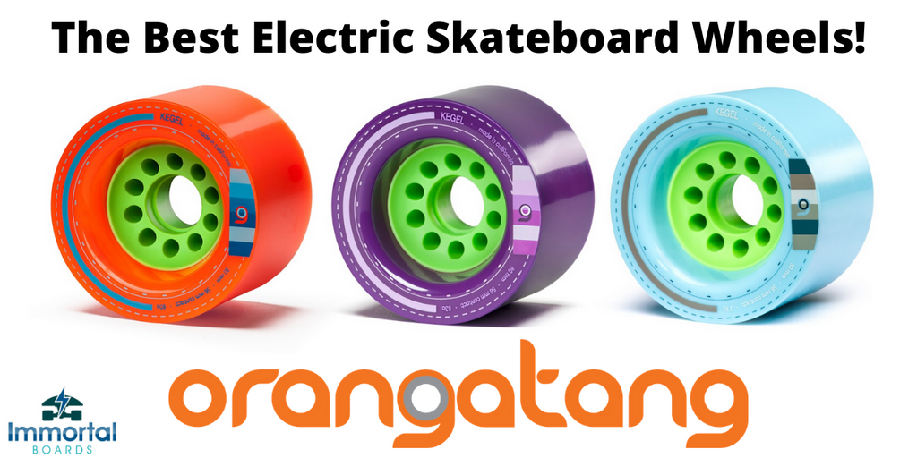 The Best Wheels For Your Electric Skateboard. Orangatang Kegel 80mm