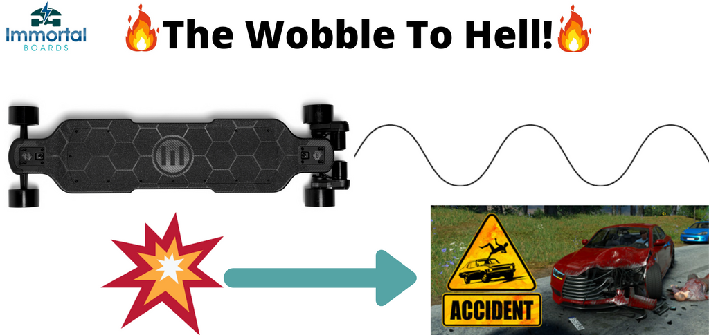 Electric Skateboards And Speed Wobbles. How To Deal With Them!
