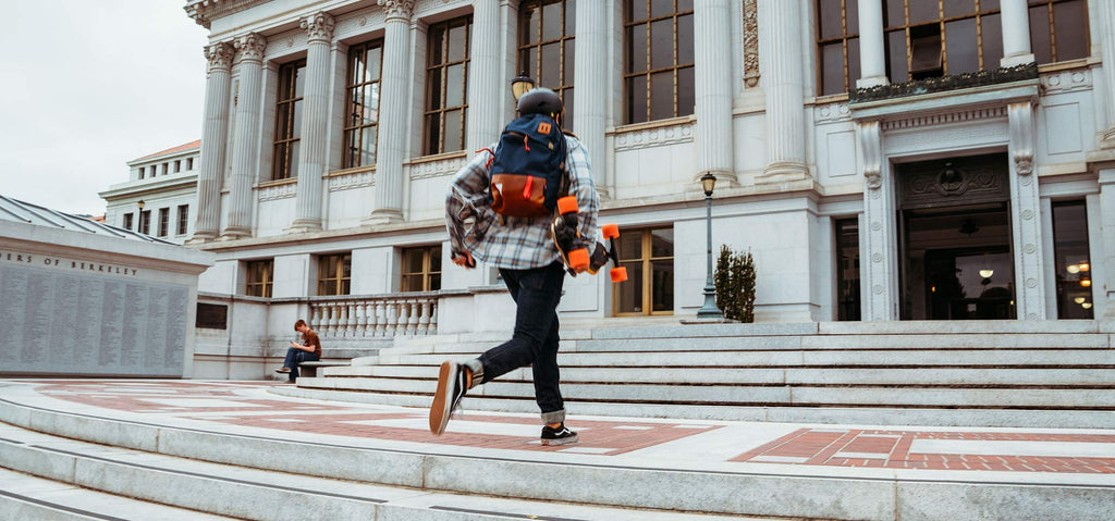 8 Tips For Getting Around Campus On Your Electric Skateboard