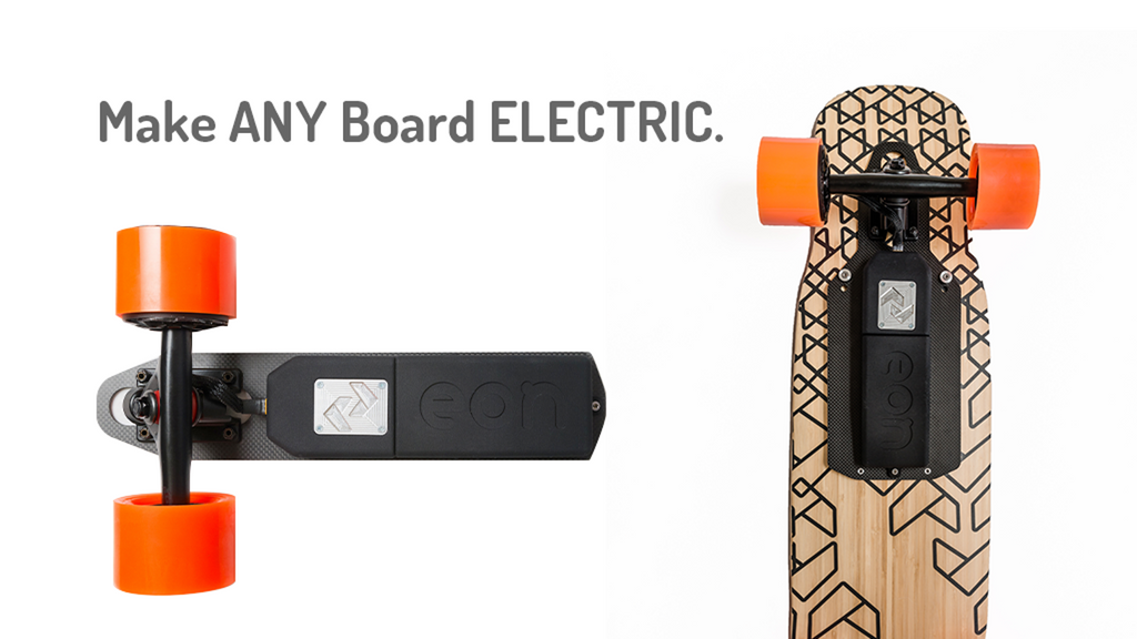 Eon - Convert Your Regular Skateboard Into An Electric!? Plug And Play!
