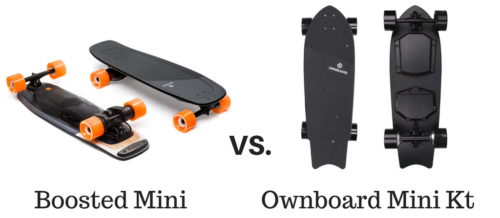 Ownboard Mini Kt Vs Boosted Mini S. Which One Should You Purchase And Why?
