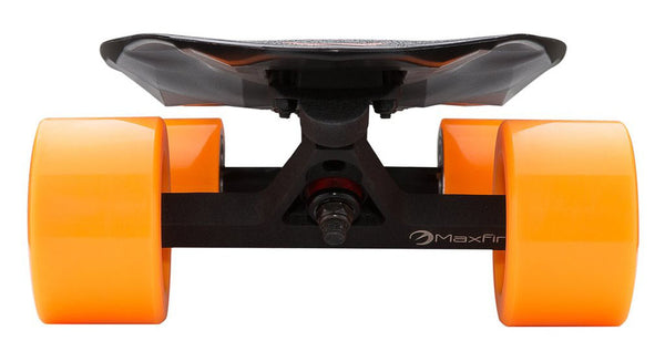 front view of Maxfind electric skateboard