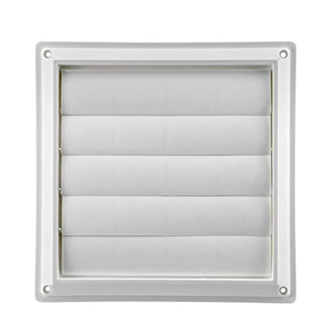 "Lambro Industries, Inc.-8"" White Plastic Louver Vent - Ventilation,  BetaNET Cryptocurrency Solutions"