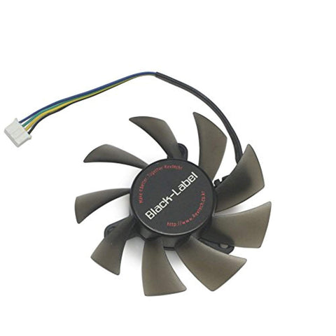 75mm 4pin PWM 2 Ball Bearing GPU VGA Video Card Cooling Fan Mounting 42.5mm PLA08015B12HH - Fans,  BetaNET Cryptocurrency Solutions