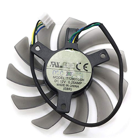 T128010SH DC 12V 75mm 0.25A 3/4/5Pin GPU Graphics Card Fan (1pcs (4pin)) - Fans,  BetaNET Cryptocurrency Solutions