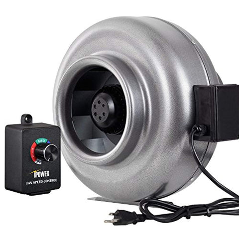 iPower 8 Inch 750 CFM Duct Inline Fan HVAC Exhaust Blower with Variable Speed Controller - Ventilation,  BetaNET Cryptocurrency Solutions