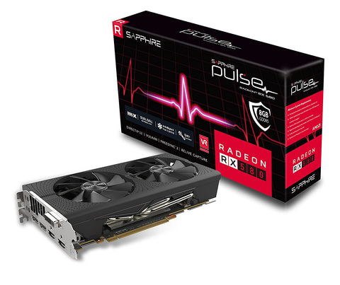 Sapphire Radeon PULSE RX 580 8GB PCI-E Graphics Card - GPU,  BetaNET Cryptocurrency Solutions
