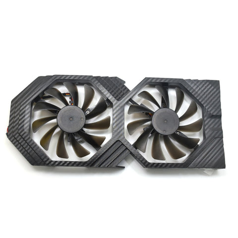 New 95MM FDC10U12S9-C DC 12V Cooler Fan Replace For XFX HIS RX580 RX584 RX588 RX 560D 580 Graphics Card Cooling Fans DIY