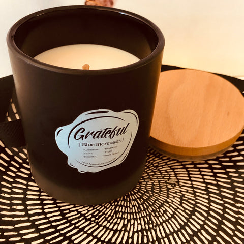 Image of Grateful - Fig & Melon White Soy Candle