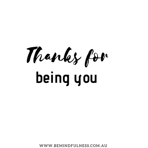 Image of Thanks for being you