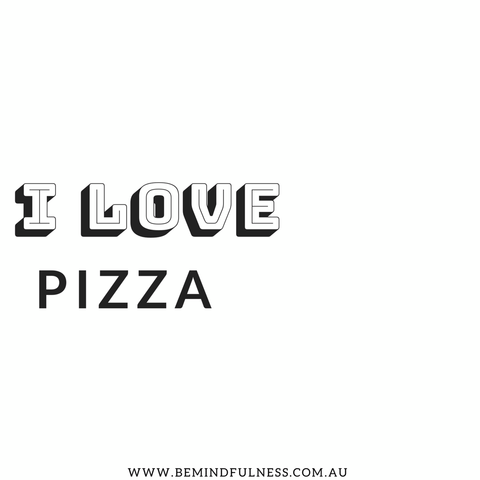 I love Pizza