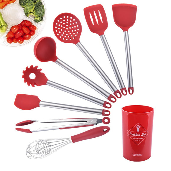 Red Always - Set 9Pcs Cooking Tools