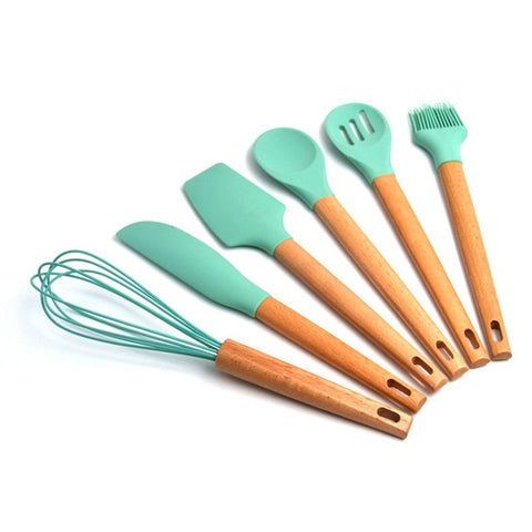 Image of Green Always - Set 6-7Pcs Cooking Tools