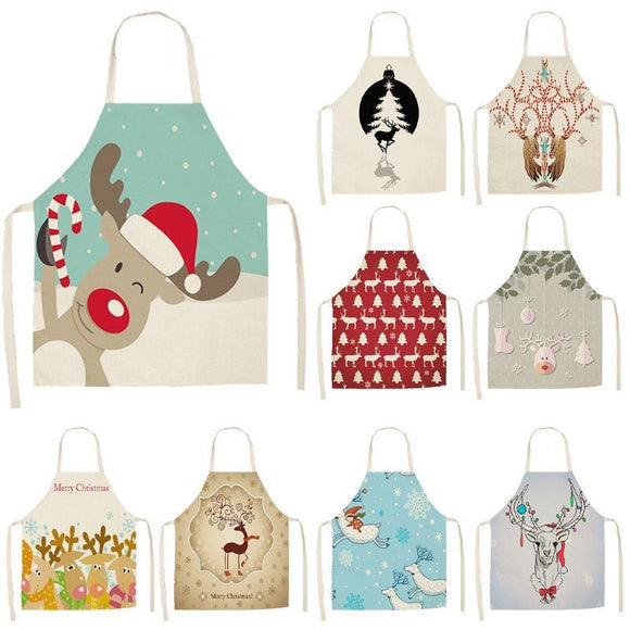 Lovely Deer Christmas Apron
