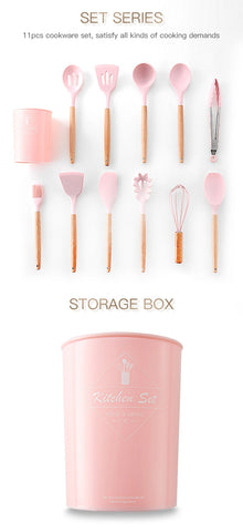Image of Pinkie Always - Set 12Pcs Cooking Tools