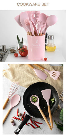 Pinkie Always - Set 12Pcs Cooking Tools