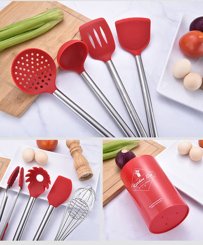 Image of Red Always - Set 9Pcs Cooking Tools