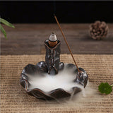 Lotus Incense and Cone Holder-Be Mindfulness