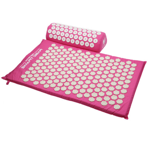 Image of Yoga Acupressure Mat + Pillow + Carry Bag set-Be Mindfulness