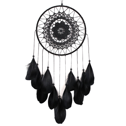 Image of Black Dream Catcher-Be Mindfulness