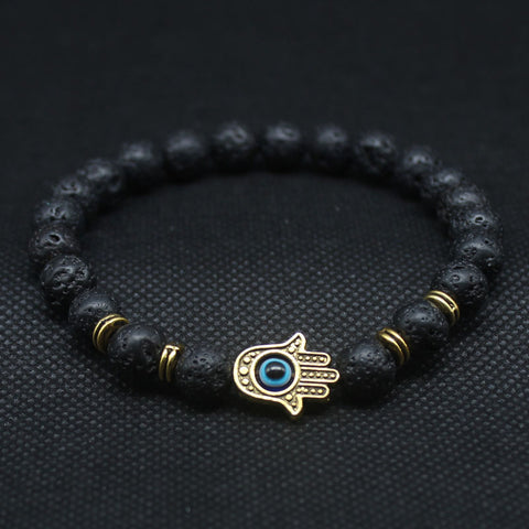 Hamsa Hand ~ Black Tourmaline-Be Mindfulness
