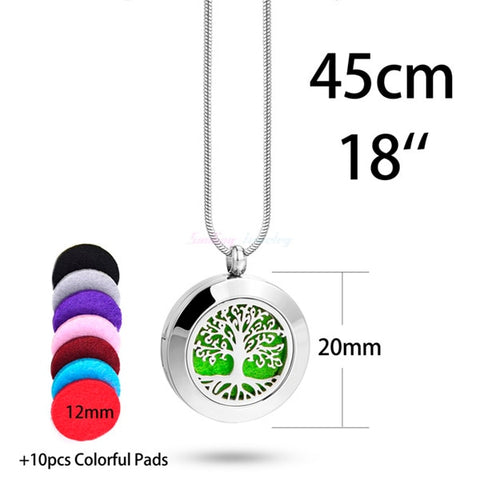 Image of Essential Oil Necklace + 10 Pads