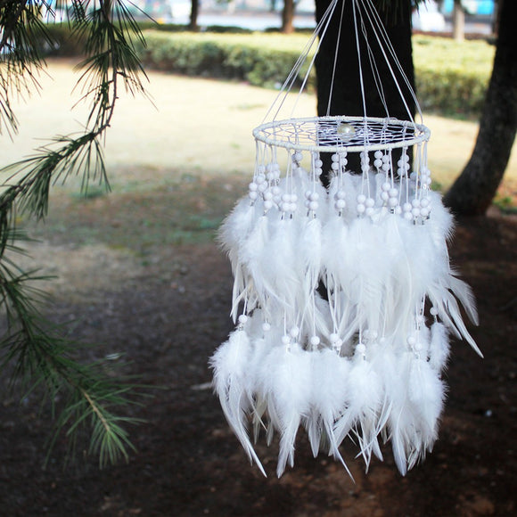 Feather pearl Dreamcatcher-Be Mindfulness