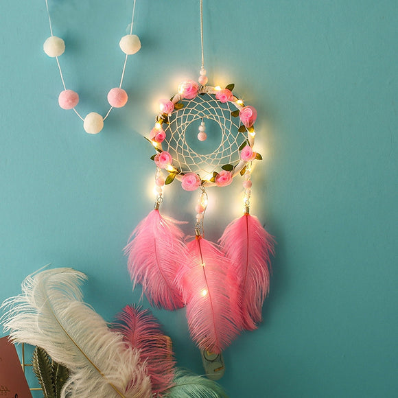 Flowers and Light Dream Catcher