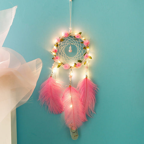 Image of Flowers and Light Dream Catcher