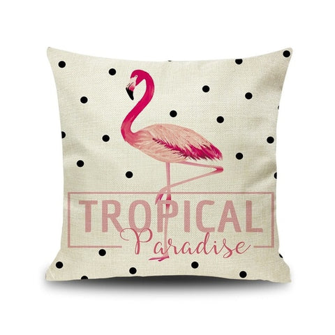 Determined - Tropical Pillow Case
