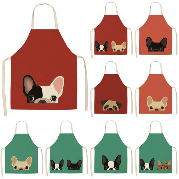 I am Worthy - Cute Dog and Cat Apron