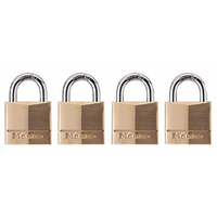 Padlock Brass 4 Keyed Alike