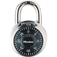 Padlock Combination Dial Black 48mm