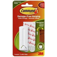 Command 3M Hanger Wire Back