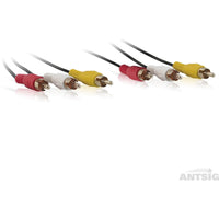 Audio/Video Lead 3RCA-3RCA 1.5m