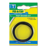 Washers Trap Inlet & Outlet 50mm PK3