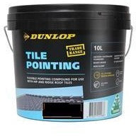 Tile Pointing Compound 10L Jet Black