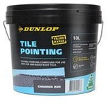 Tile Pointing Compound 10L Charred Ash