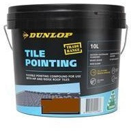 Tile Pointing Compound 10L Terracotta