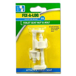 Toilet Seat Nut & Bolt Easy Fit Cd2