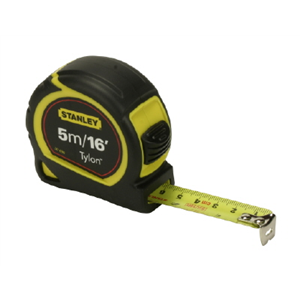Tape Measure Stanley 5m/16ft Tylon