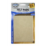 Felt Pad 150x110mm Sheet - Self Adhesive Pk2